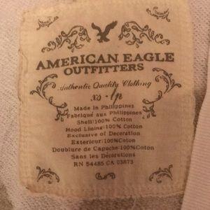 American Eagle long hoodie